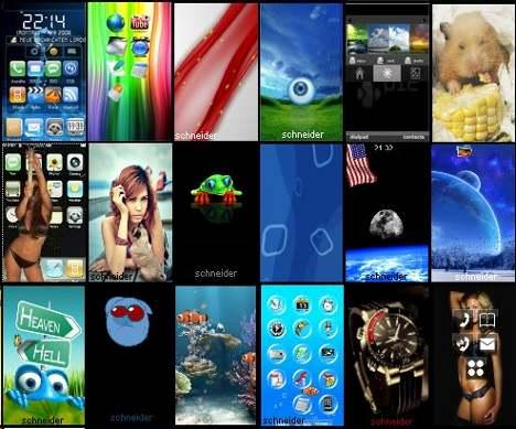 temas para celular lg t300